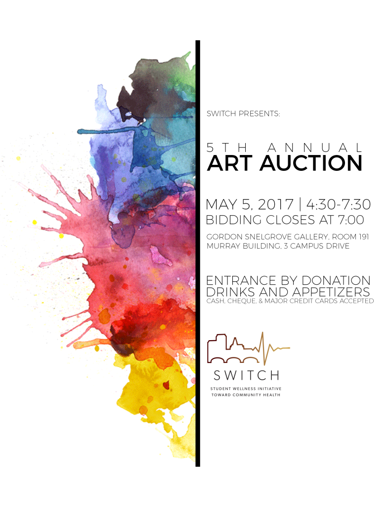 Art Auction Poster 2017